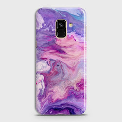 SAMSUNG GALAXY A8+ (2018) Chic Liquid Marble Case