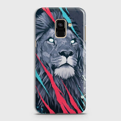 SAMSUNG GALAXY A8+ (2018) Abstract Animated Lion Case