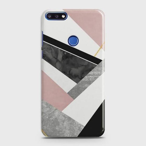 Huawei Honor 7C Luxury Marble design Case - Phonecase.PK