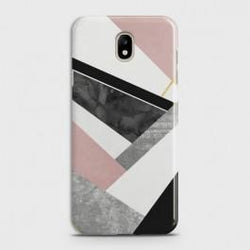 SAMSUNG GALAXY J3 (2018) Geometric Luxe Marble Case