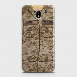 SAMSUNG GALAXY J3 (2018) Army Costume With Custom Name Case