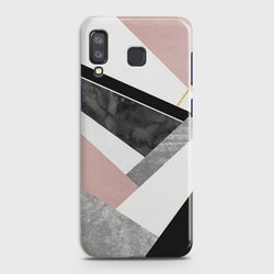 SAMSUNG GALAXY A8 STAR(A9 STAR) Geometric Luxe Marble Case