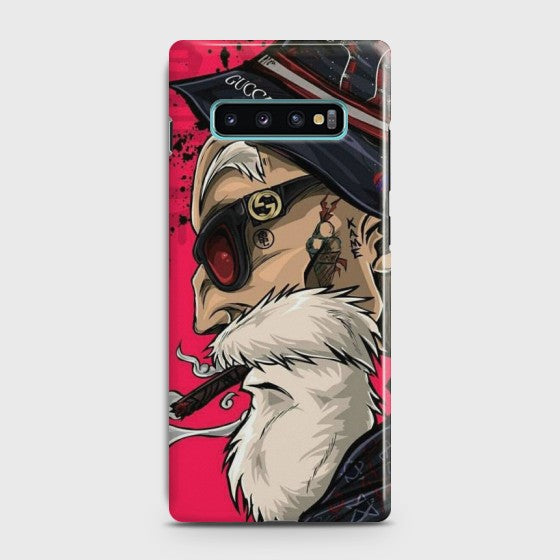 SAMSUNG GALAXY S10 Plus Master Roshi Case