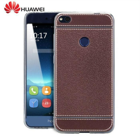 Leather Pu Soft Back Cover Huawei P8 /p8 Lite/ P9/ P9 Lite Mobile Case