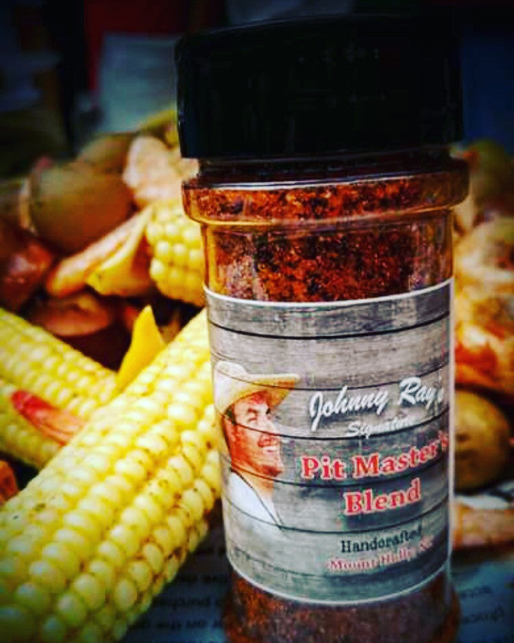 Pitmaster's Blend dry rub, delicious, small batch seasoning.  Awesome on steak, veggies, all meats.  All purpose seasoning.