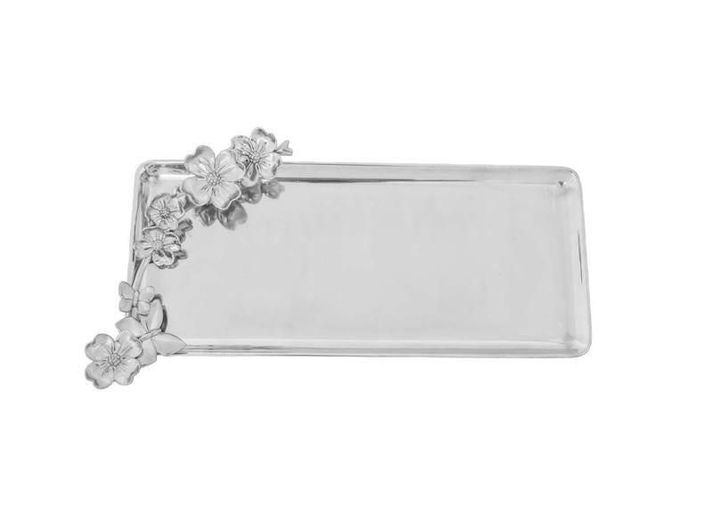 Butterfly Dogwood Oblong Tray from Arthur Court Designs