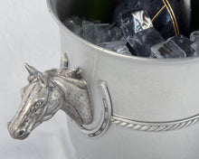 Horse Head Champagne Bucket - Vagabond Equestrian Collection