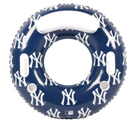 MLB New York Yankees 48-inch Pool Tube Float with Team Logo Repeat Design