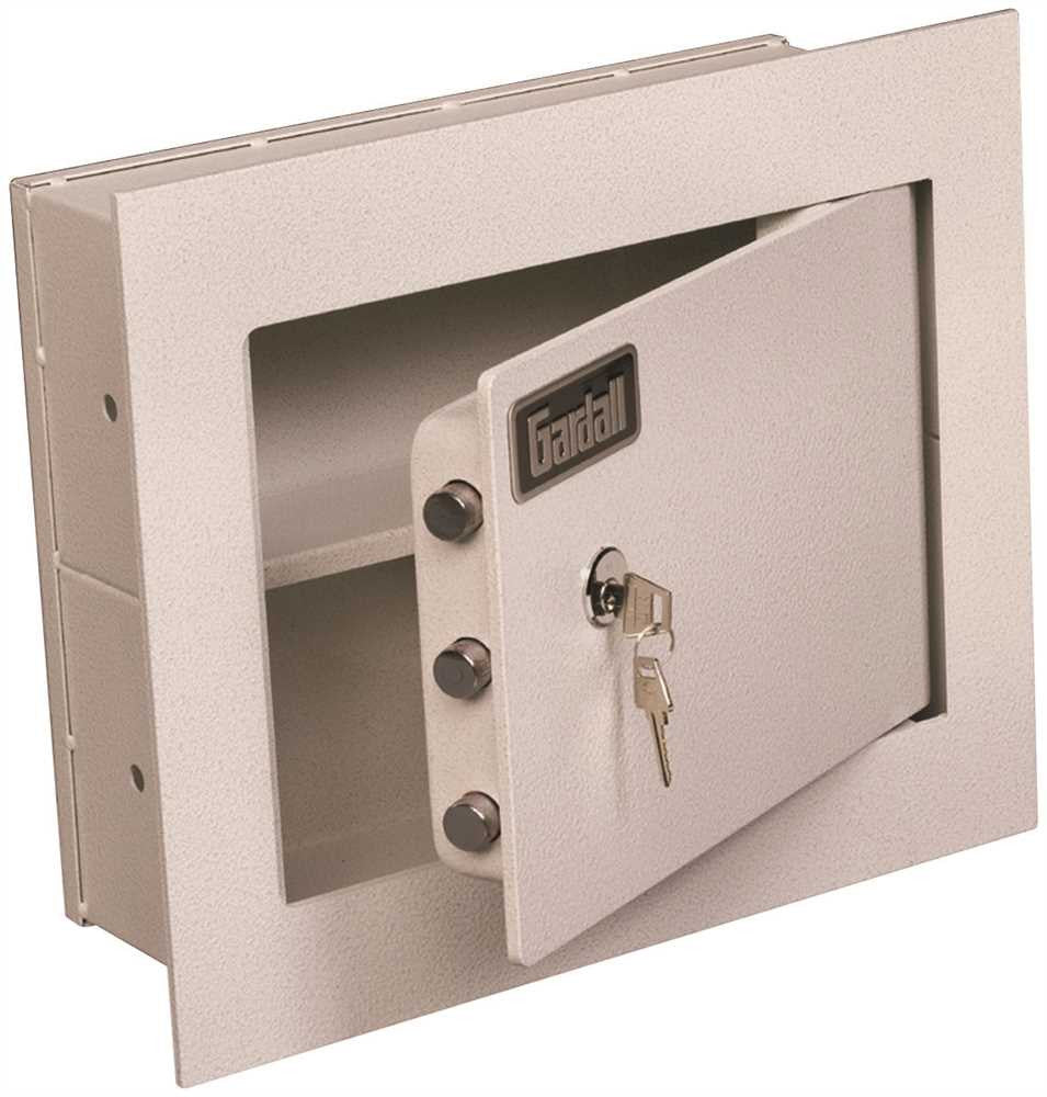 GARDALL CONCEALED WALL SAFE KEY LOCK - Countryside Locks