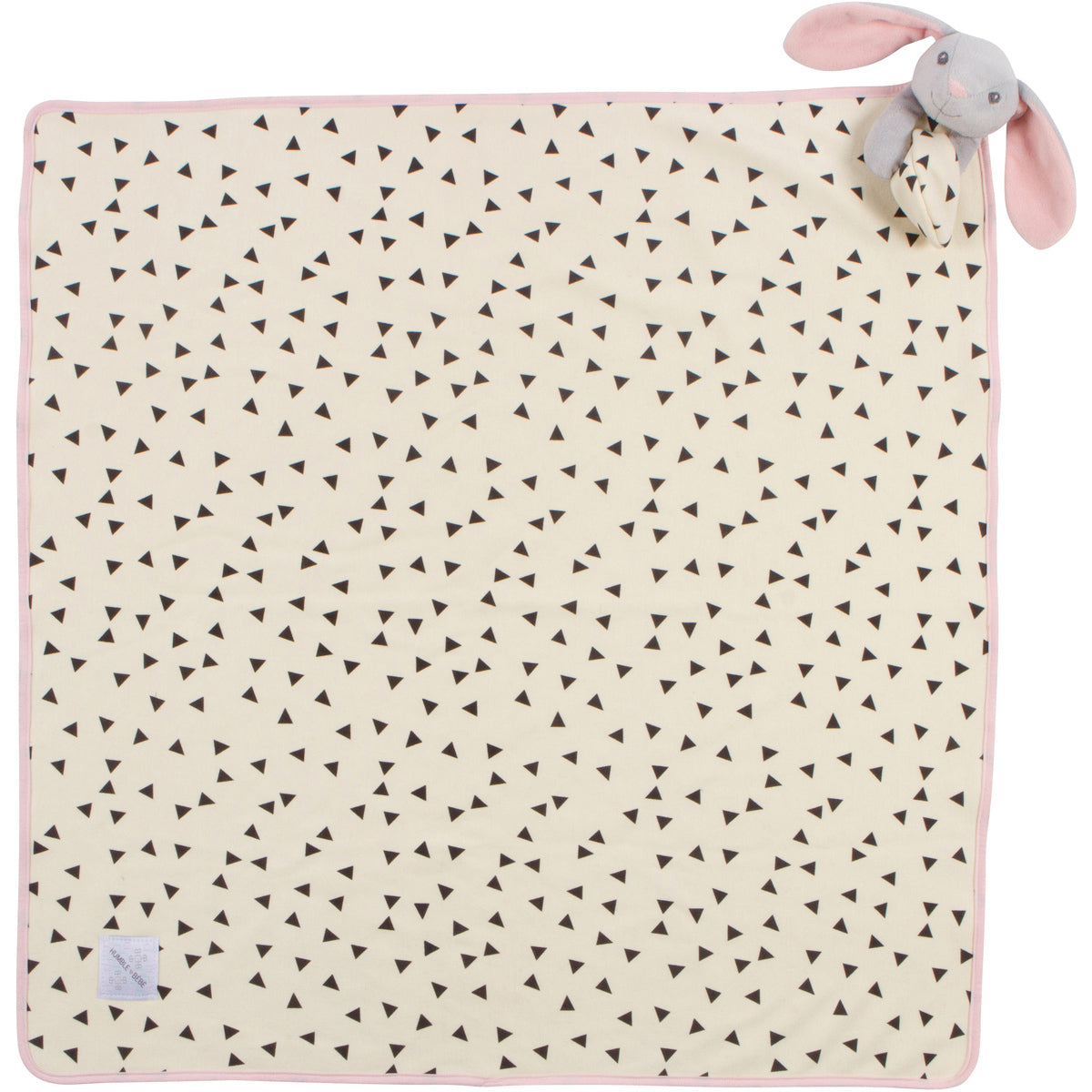 "Deluxe Lovey Blanket - Remy the Bunny - 30""x30"""