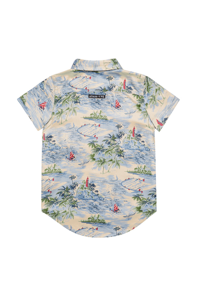 Hawaii Zip Shirt