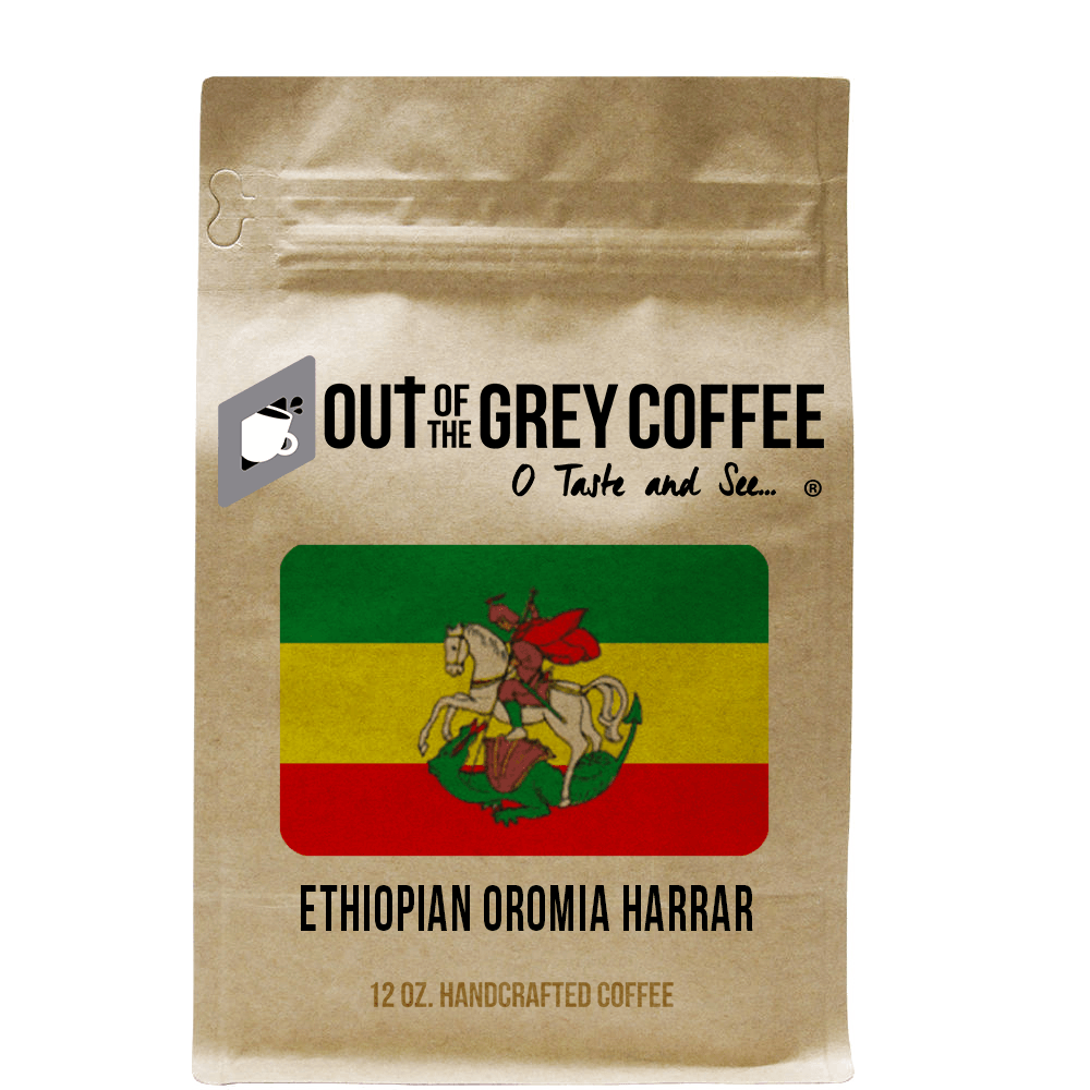 Single Origin - Ethiopian OROMIA Harrar - Organic Coffee