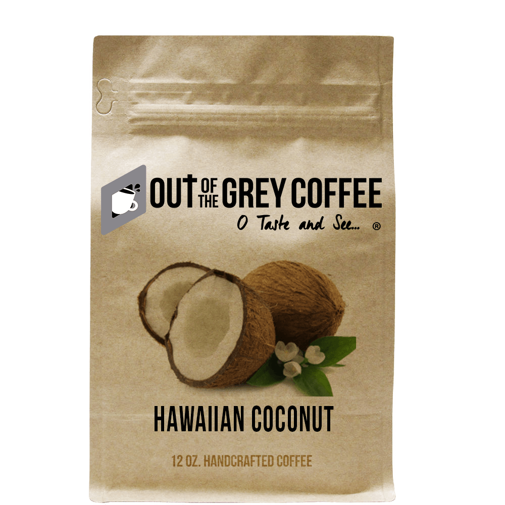 Hawaiian Coconut - Flavored Organic Coffee
