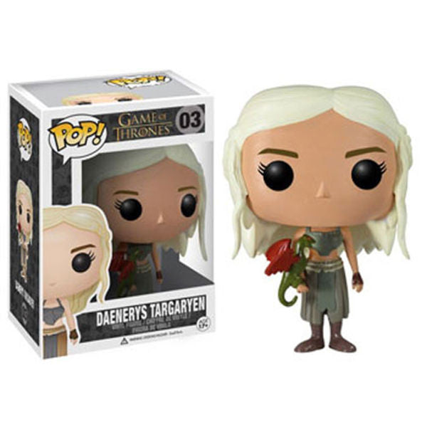 GAME OF THRONES DAENERYS TARGARYEN FUNKO POP! VINYL FIGURE #03