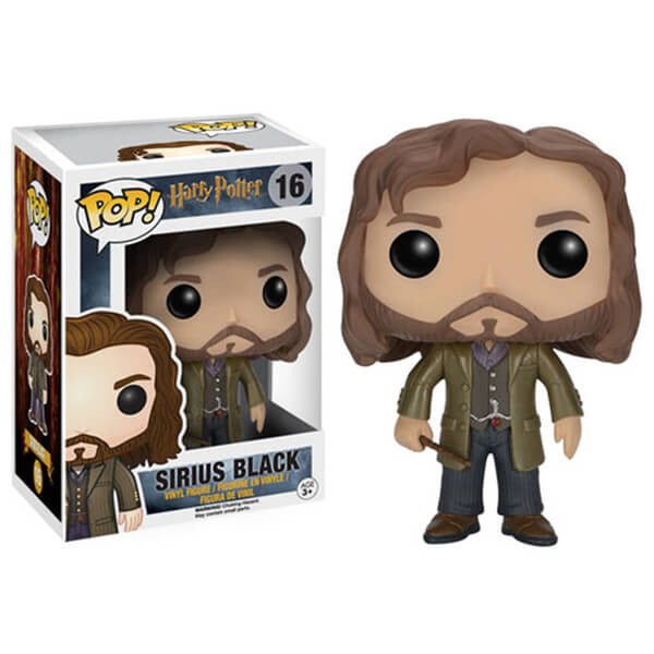 HARRY POTTER SIRIUS BLACK FUNKO POP! VINYL FIGURE #16