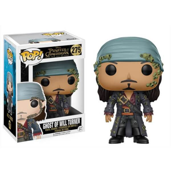 PIRATES OF THE CARIBBEAN GHOST OF WILL TURNER FUNKO POP! VINYL FIGURE #275