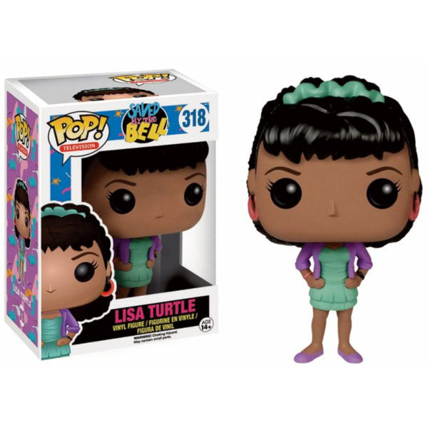 SAVED BY THE BELL LISA TURTLE FUNKO POP! VINYL FIGURE #318