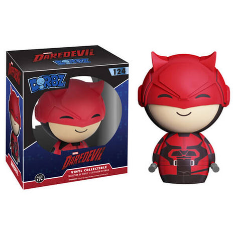 MARVEL DAREDEVIL FUNKO DORBZ VINYL FIGURE #124 [BOX DAMAGED]
