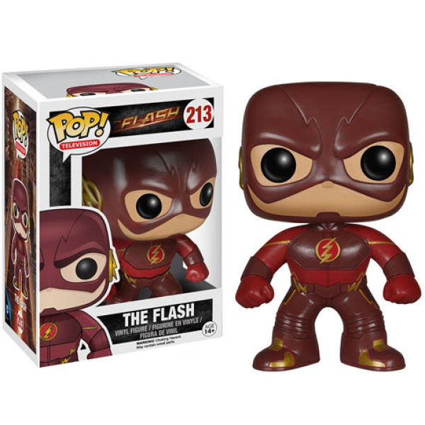 DC COMICS FLASH FUNKO POP! VINYL FIGURE #213