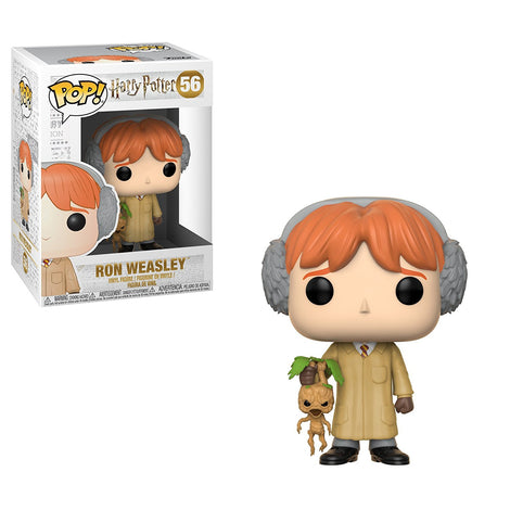 Ron Weasley with Mandrake (Herbology) Funko Pop #56