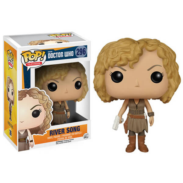 DOCTOR WHO RIVER SONG FUNKO POP! VINYL FIGURE #296