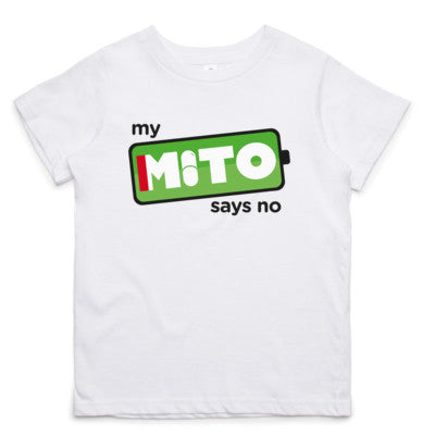 My Mito Says No Little Tee