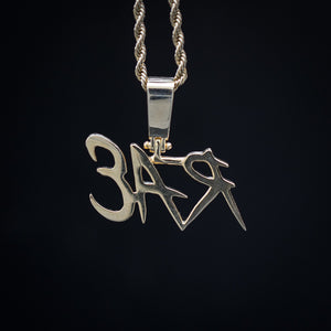Custom Dope Font Pendant - SD JEWELS