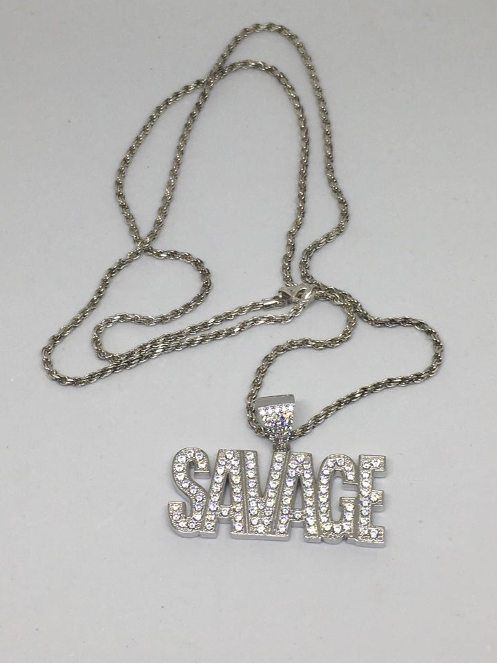 Savage Pendant and Chain Combo - SD JEWELS