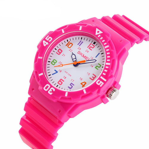 Rugged Girls Learning Watch - Pink - from Kids Watches NZ