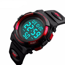 Large Face Digital Watch - Red - from Kids Watches NZ