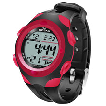 Modern Stylish Multi Time Zone Digital Watch - Red - from Kids Watches NZ