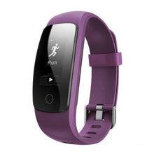 Touch Screen Fitness Tracker with Bluetooth - Purple (Free Black Strap) - from Kids Watches NZ