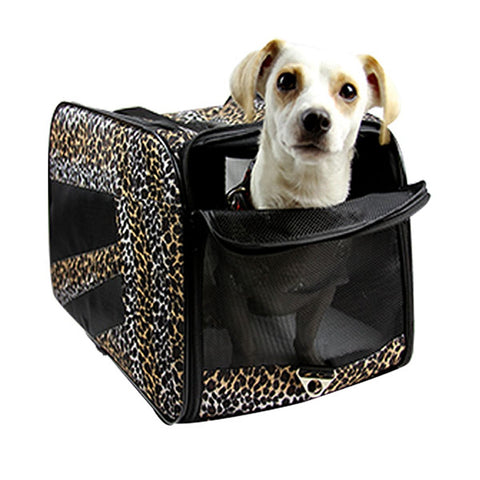 Pet Smart Cart - Leopard, Large - Trolley Dolly   - Storage & Organization,dbest products - dbest products, Inc