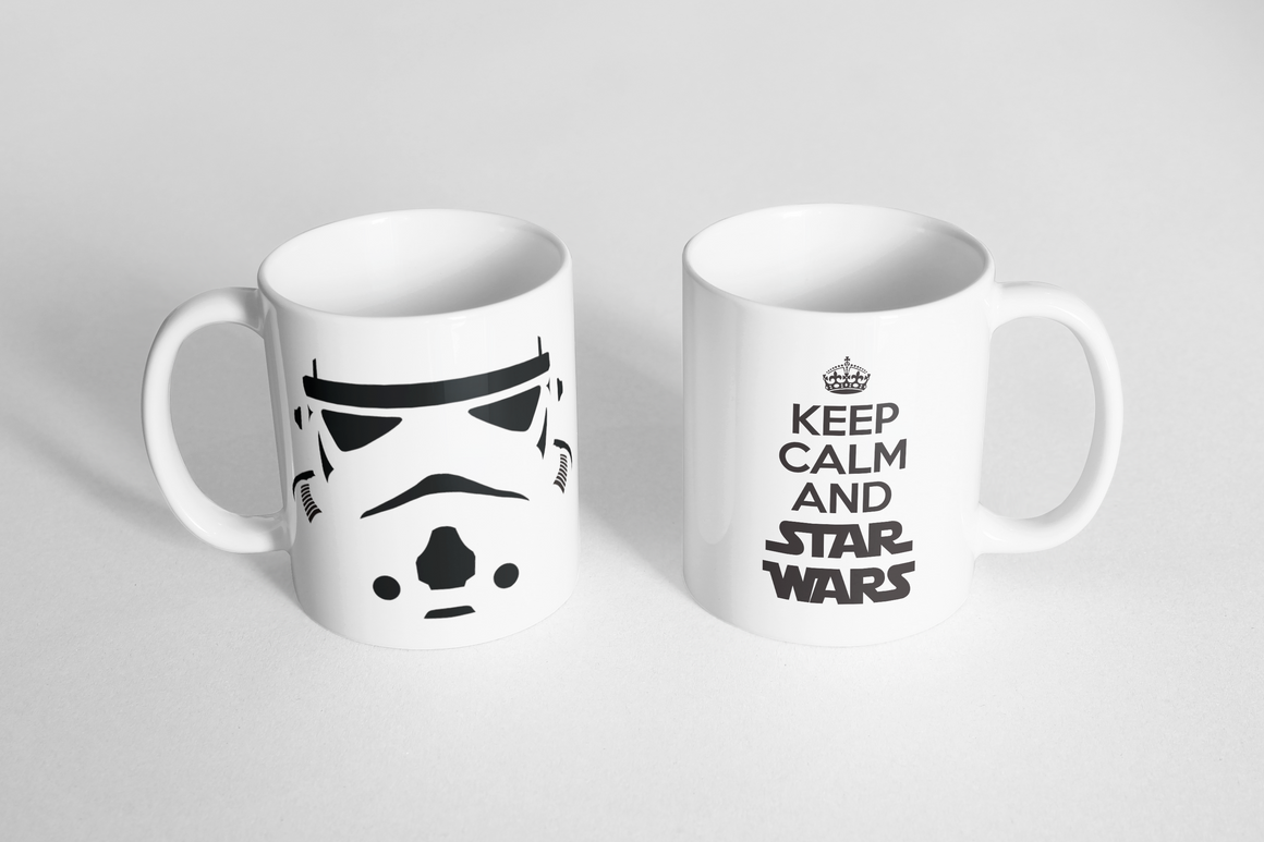 "Mug - ""Keep Calm and STAR WARS"""