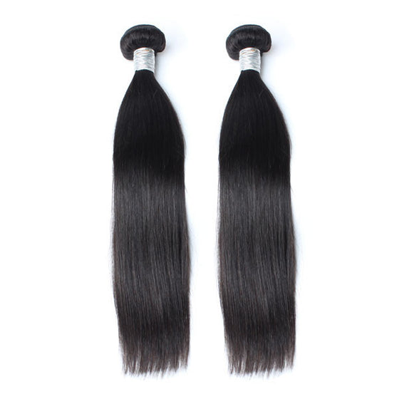 Luxury 10A Mink Straight Hair 2 Bundles