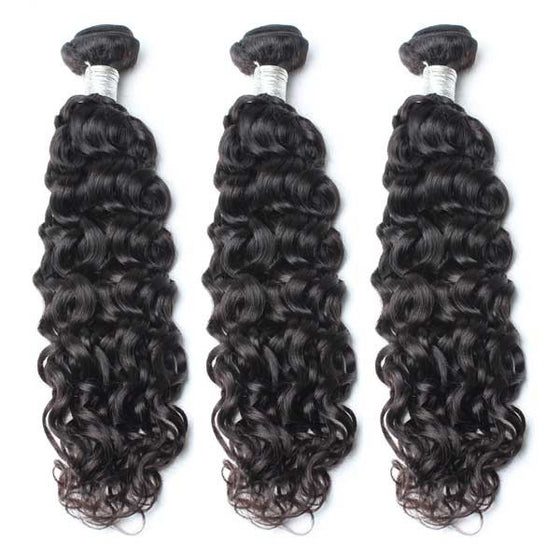 Luxury 10A Mink Natural Wave Hair 3 Bundles