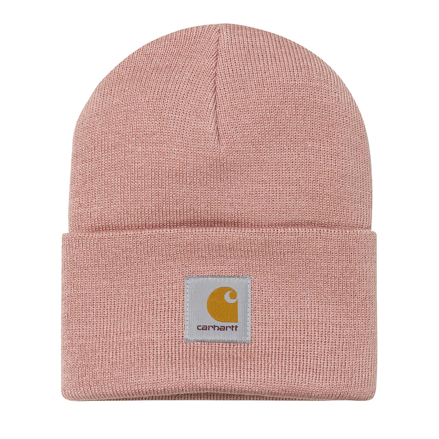 Carhartt Acrylic Watch Hat Soft Rose - Pict Clothing