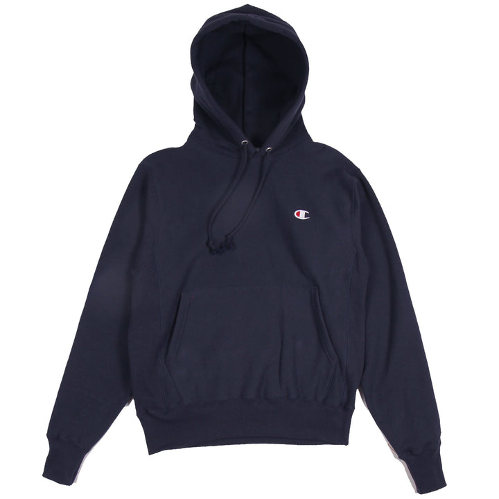 Champion Reverse Weave Hoodie Navy - Pict Clothing