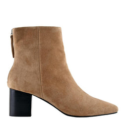 Florence Tobacco Suede Boots