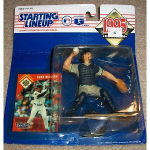 1995 Dave Nilsson MLB Starting Lineup Figure Milwaukee Brewers