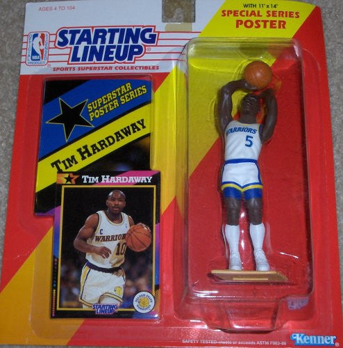 1992 NBA Starting Lineup - Tim Hardaway - Golden State Warriors