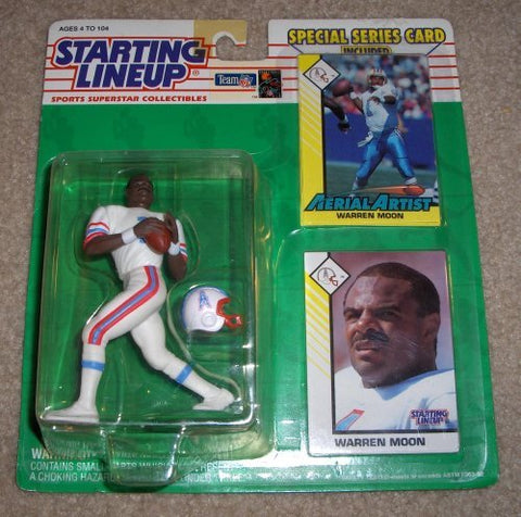 1993 Warren Moon NFL Starting Lineup Figure Houston Oilers