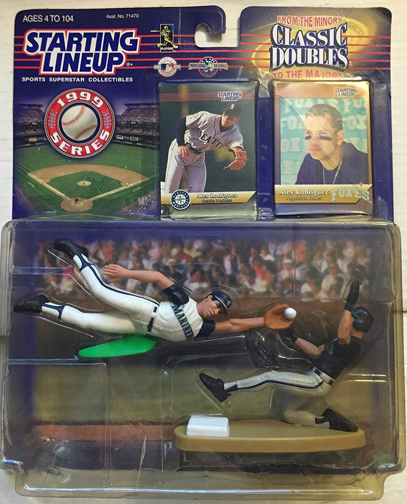 1999 MLB Starting Lineup Classic Doubles - Alex Rodriguez