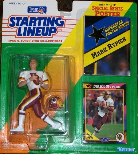 Mark Rypien 1992 Starting Lineup Washington Redskins
