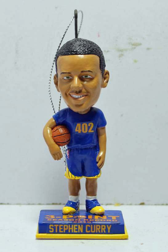 Stephen Curry 2016 Holiday Ornament 402 Three Point Season Record Only 403 were made 4inch