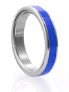 STAINLESS STEEL C-RING WITH COLOR CONTRAST BAND