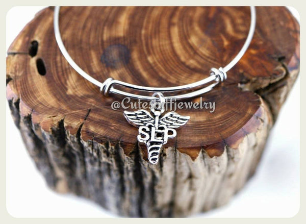 Speech Language Pathologist Bracelet,Speech Therapist bracelet