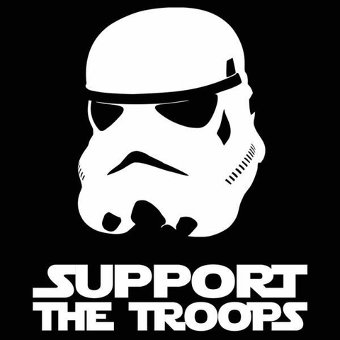 Support The Troops T-Shirt - Rising Star Leggings