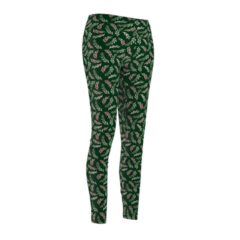 Be Sporty Green Branches - Rising Star Leggings