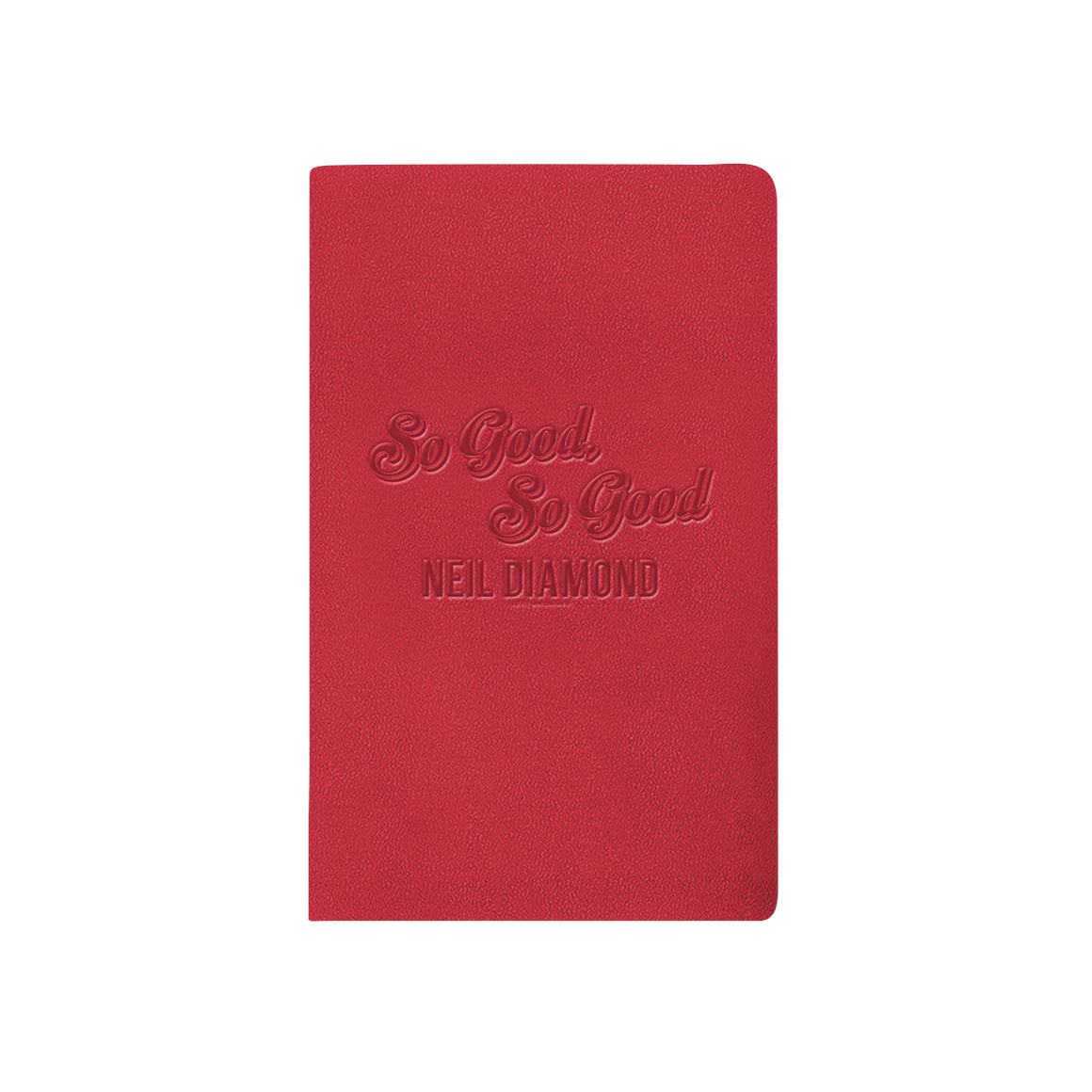 50th Anniversary Leather Journal-Neil Diamond
